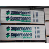 Placa Superboard 10mm 1,20 X 2,40 Cementicia Fibrocemento