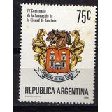 Argentina 1994 Gj 2682 Fund San Luis Mint,,,,liquido Vea
