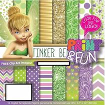 17 Kits Scrapbook Digital Sininho Png Papel Digital