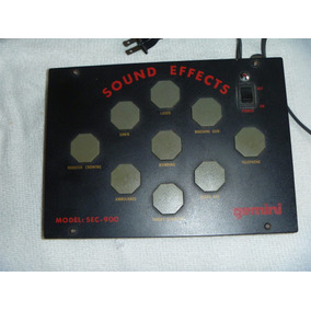 Sound Effects Gemini Sec-900