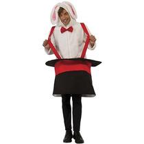 Disfraz Conejo Hombres Rubie En Un Traje Con Capucha Sombre