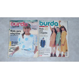 Revista Burda Colegiales Española Con Moldes