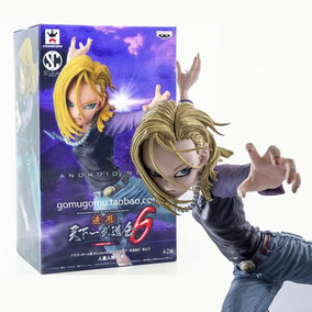 Android 18 Action Figure Dragon Ball Pronta Entrega