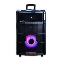 Caixa De Som Amplificada Bluetooth 300w Rms Dj Trc Dj3000