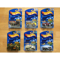 Set 17 De 6 Hot Wheels Factory Sealed 2002 Camion Trabajo .