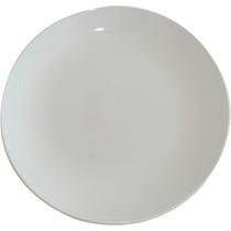 Plato De Porcelana 27 Cm X 12 Unidades Extra Blanco