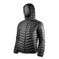 Campera De Pluma Salomon Halo Hooded Hombre Negro
