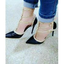 Sapatos Femininos Atacado Grade Fechada Scarpin Preto