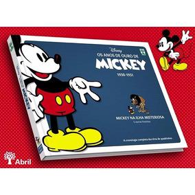 Os Anos De Ouro De Mickey 1930 1931 - Bonellihq Cx374 D17
