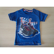 Camisa Tigor T Tigre Desenho De Bota T.2/4/10/12