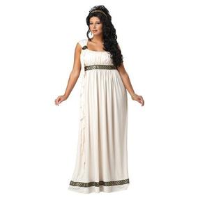 Disfraces California Plus-tamaño Del Vestido De La Dio W1