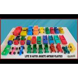 Dante42 Lote 30 Autos Juguete Antiguo Plastico 1970