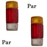 Par Lente Lanterna Traseira D20 A20 C20 85 A 96 Tricolor