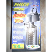 Filtro Interno 600l/h Oxigena P/acuario 130-200lts Dhl