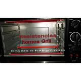 Resistencias Velas Hornos Grill Electricos De 36 Cm A 51cm
