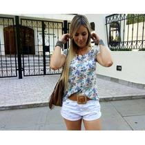 Blusinha Feminina Tshirt Estampa Frente Costas Romantica
