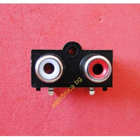 Conector Plug Rca Modulos Amplificador Taramps Stetsom |c/ 5