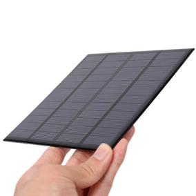 Célula Painel Placa Energia Solar Fotovoltaica 12v 0.250a 3w