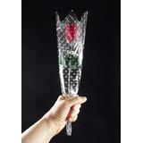 60 Rosas Embaladas Artificiais - Veludo Artificial Botão
