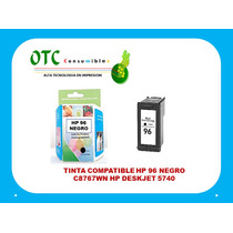Tinta Compatible Hp 96 Negro C8767wn Hp Deskjet 5740