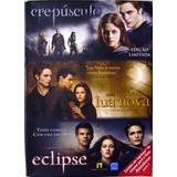 Box 3 Dvds - Saga Crepúsculo - Edição Limitada