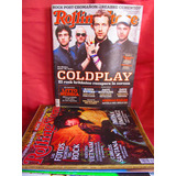 Revista Rolling Stone Coldplay Año 8 Nro 90