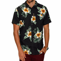 Camisa Botão Rip Curl Avalon Shirt Floral Masculina Original