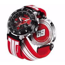 Relógio Tissot T-race Nick Hayden Moto Gp Vidro Safira Novo