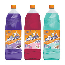 Mr Musculo Limpiapisos Glade Lavanda + Floral + Paraiso 1,8l