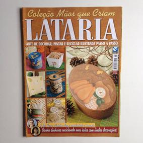 Revista Mãos Que Criam Lataria Arte De Decorar Pintar N°03