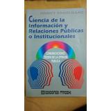 Ciencia De La Información Y Relaciones Públicas - Escalante