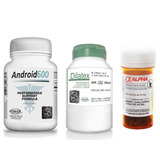 Kit Anabolico Android600 + Dilatex + Alpha Axcell Ciclo
