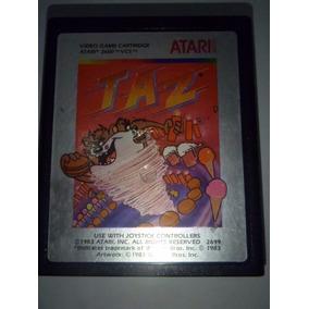 Taz Diablo Tazmania Cartucho Atari 2600 Rarity 4 Funcionando