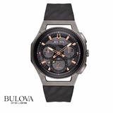 Reloj Bulova Curv Titanio 98a162 Distribuidor Oficial Envio
