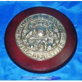 Selo Bronze Do Cofre Do Navio Príncipe D Astúrias Reprodução 45a2fc7b95