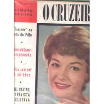 O Cruzeiro 1959.vasco Campeão.fab.maura Maria.fidel Castro.