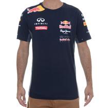 Camiseta Masculina Red Bull Infiniti Racing Team Wear Oficia
