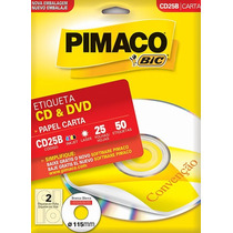 Etiqueta Ink Jet Cd/dvd Pimaco 60178