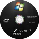 Cd Formatação Wind©ws 7 Ultimate 32 E 64 Bits+ Todos Drivers
