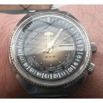 Relógio Orient Wd World Diver Automatico Hora Mundial