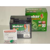 Bateria Htz5 Heliar Biz100 Pop100 Web100 Titan/bros125 Pedal
