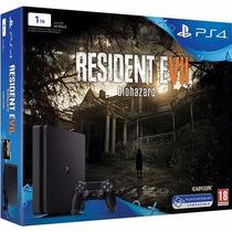 Sony Ps4 Slim 1tb + Resident Evil 7: Biohazard Vr Promoção!