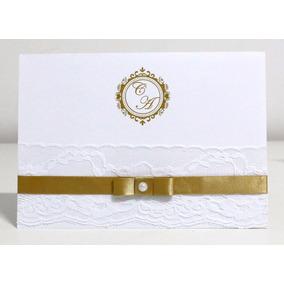 Convite De Casamento - Super Barato