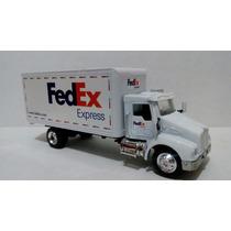 Trailer Torton Kenworth T300 Fedex Esc. 1:43
