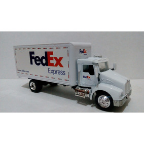 Trailer Torton Kenworth T300 Fedex Esc. 1:43