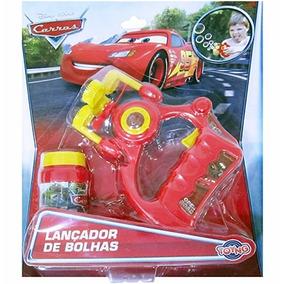Disney Carros - Lançador De Bolhas A Pilhas - Toyng 28610