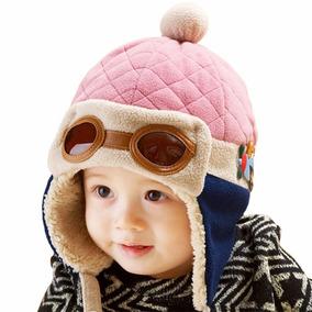 Touca Importada Aviador Piloto Bebê Infantil Pronta Entrega