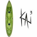 Kayak Marca Sin On Top Modelo Kai 3 + Remo + Silbato