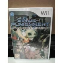 Sin & Punishment Star Successor - Wii - Eur Pal Novo Lacrado