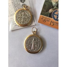 Medalla De San Benito Acero